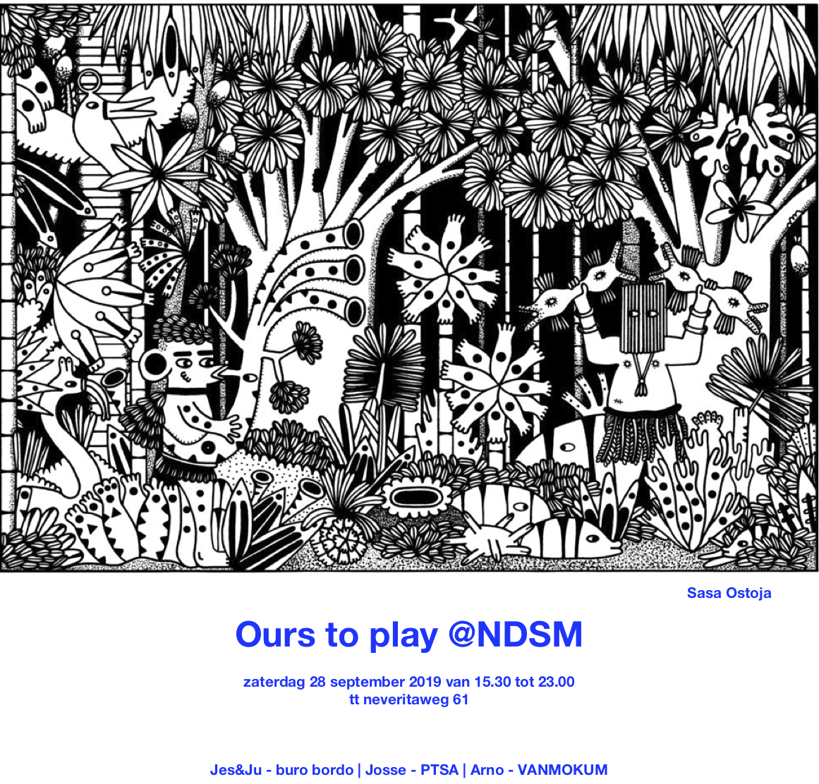 Ours to Play @NDSM
